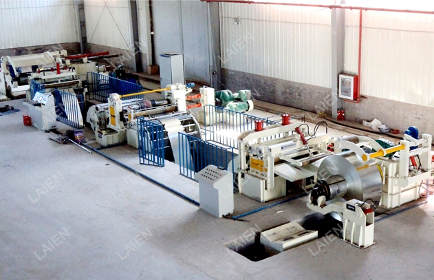 High Accuracy Steel Coil Slitting Line