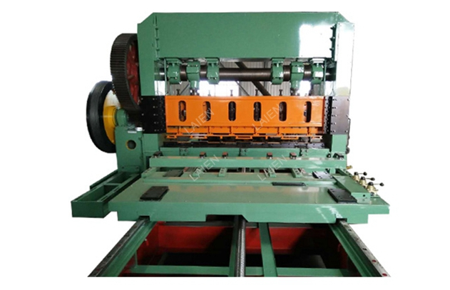 JQ25-160 Heavy duty expanded metal mesh machine