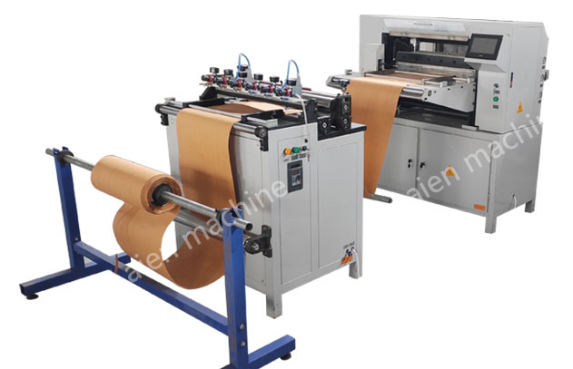 Automatic filter paper pleating machine for car air filter